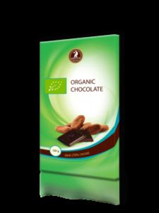 Черный органический шоколад SHOUD'E